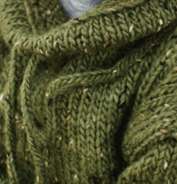 8278b444 Strikkemekka.no - barnegenser-grønn-tweed