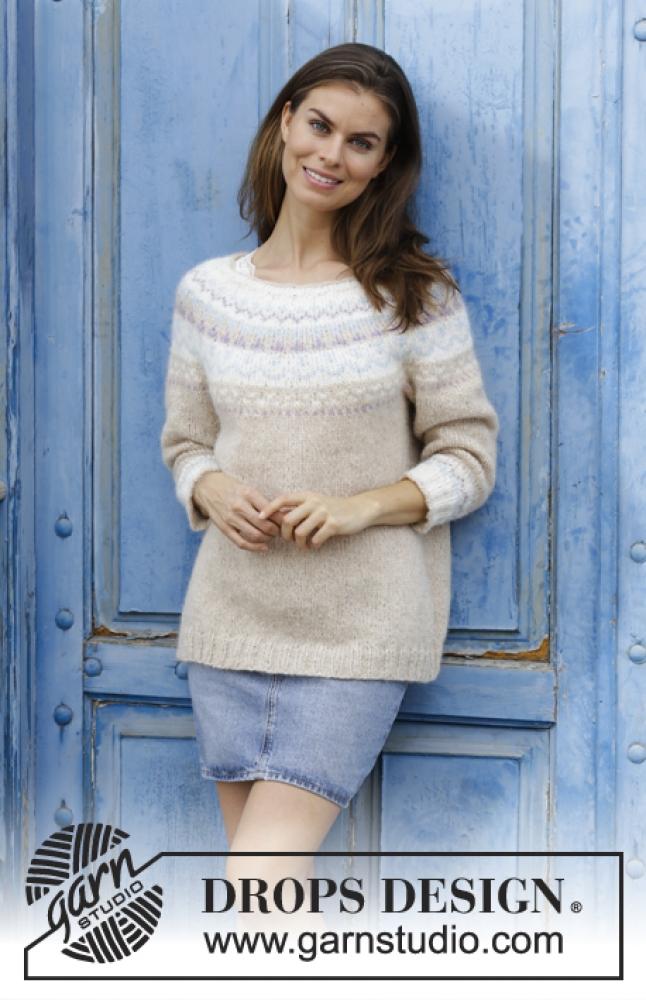 blå uni genser