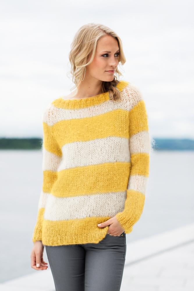 Acne inspirert genser fra Dale Garn | Idestova As