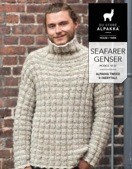 Strikkemekka.no DSA herre genser alpakka wool