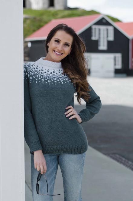 strikkemekka genser